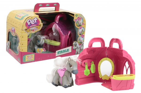 Pet Parade Pony Parade Playset Stalla con Pony Esclusivo e Accessori PET PARADE Femmina 12-36 Mesi, 3-5 Anni, 8-12 Anni ALTRI