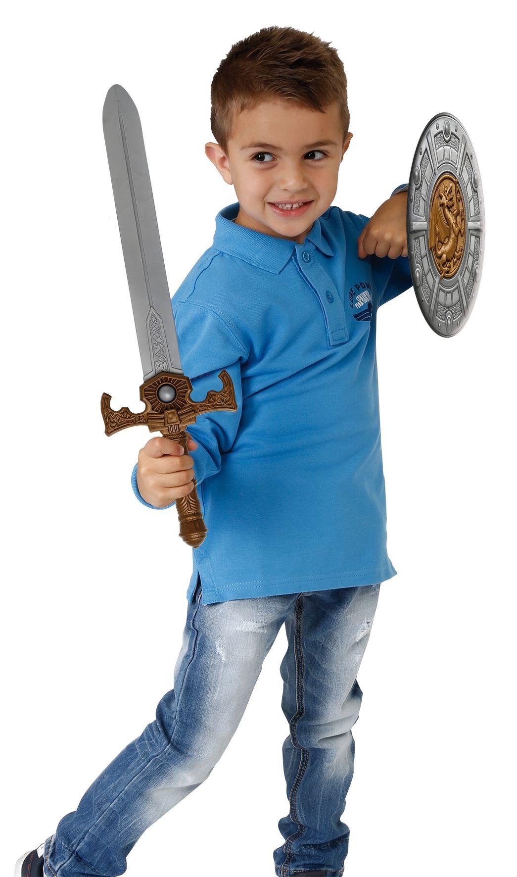 Spada con scudo medievale - INVINCIBLE HEROES