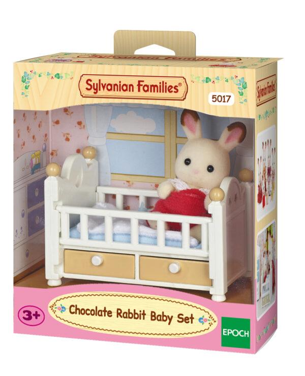 Bebè coniglio cioccolato e lettino SYLVANIAN FAMILIES Femmina 12-36 Mesi, 3-4 Anni, 3-5 Anni, 5-7 Anni, 5-8 Anni, 8-12 Anni ALTRI