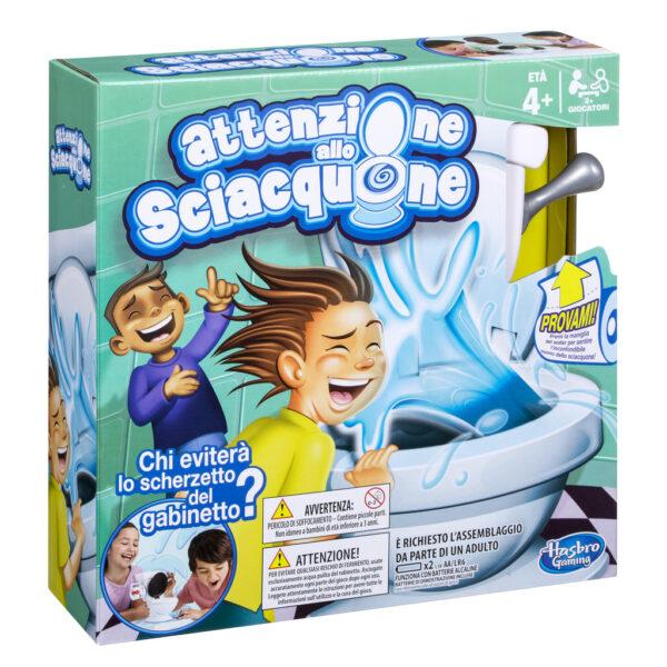 HASBRO GAMES ALTRI Attenzione allo Sciacquone - Hasbro Games - Toys Center Unisex 12+ Anni, 3-5 Anni, 5-8 Anni, 8-12 Anni