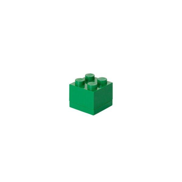 ALTRO ALTRI Contenitore LEGO Mini Box 4 Verde - Licenza Lego - LEGO - Marche Unisex 12-36 Mesi, 12+ Anni, 3-5 Anni, 5-8 Anni, 8-12 Anni