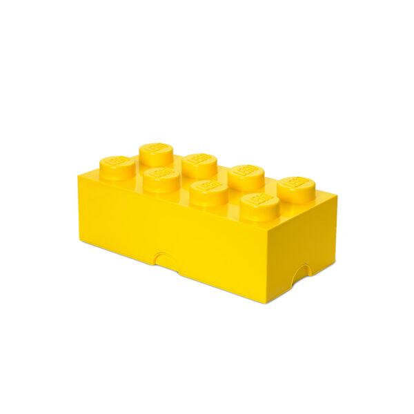 Contenitore LEGO Mini Box 8 Giallo - Licenza Lego - LEGO - Marche - ALTRO
