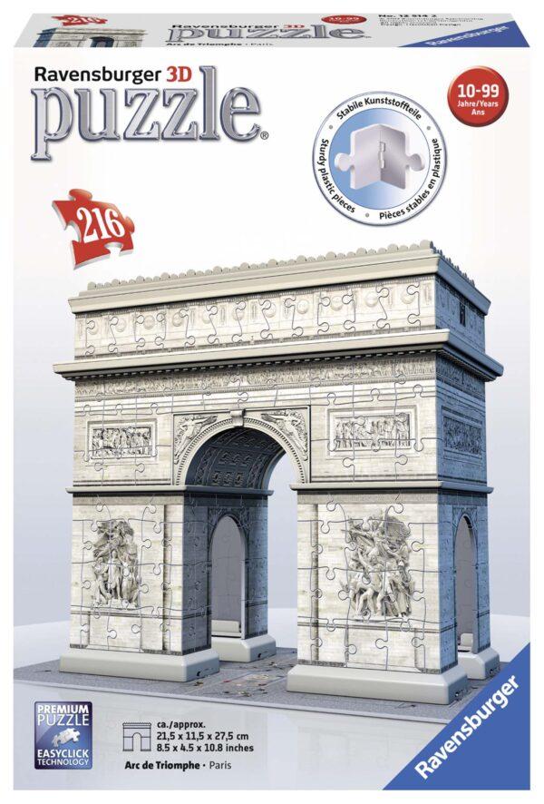 3D Puzzle Building - Arco di Trionfo - Altro - Toys Center ALTRO Unisex 12+ Anni, 8-12 Anni ALTRI