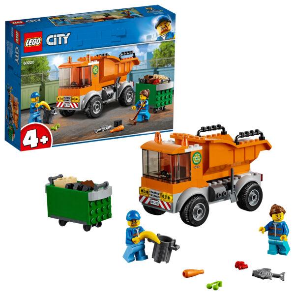 LEGO Camion della spazzatura - 60220 LEGO CITY Unisex 12+ Anni, 3-5 Anni, 5-8 Anni, 8-12 Anni ALTRI