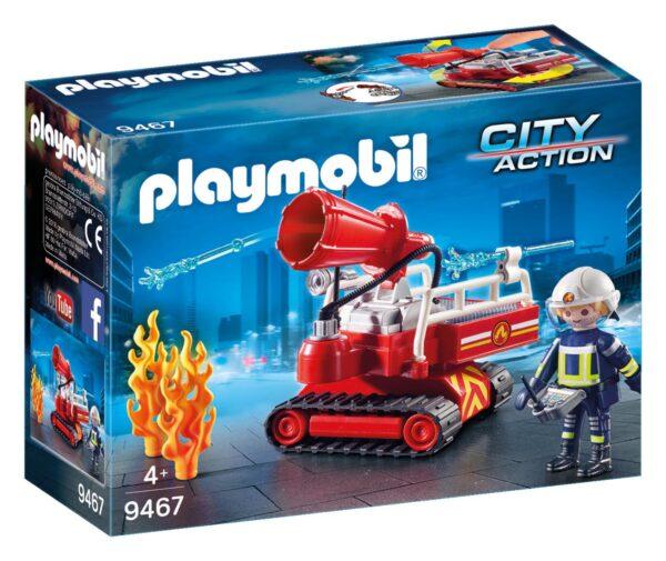 ROBOT DEI VIGILI DEL FUOCO - Playmobil - City Action - Toys Center PLAYMOBIL - CITY ACTION Unisex 12+ Anni, 8-12 Anni ALTRI
