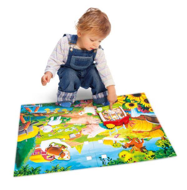 CLEMENTONI - 12038 - Sapientino Baby La Fattoria Parlante - SAPIENTINO - Giochi di apprendimento elettronici