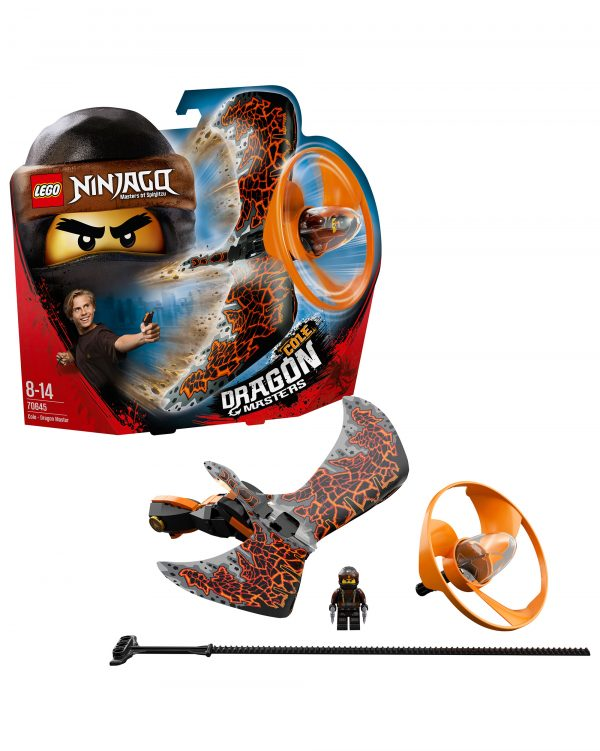 70645 - Cole - Maestro dragone - Lego Ninjago - Toys Center Unisex 12+ Anni, 5-8 Anni, 8-12 Anni ALTRI LEGO NINJAGO