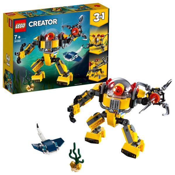 31090 - Robot sottomarino - Lego Creator - Toys Center LEGO CREATOR Unisex 12+ Anni, 5-8 Anni, 8-12 Anni ALTRI