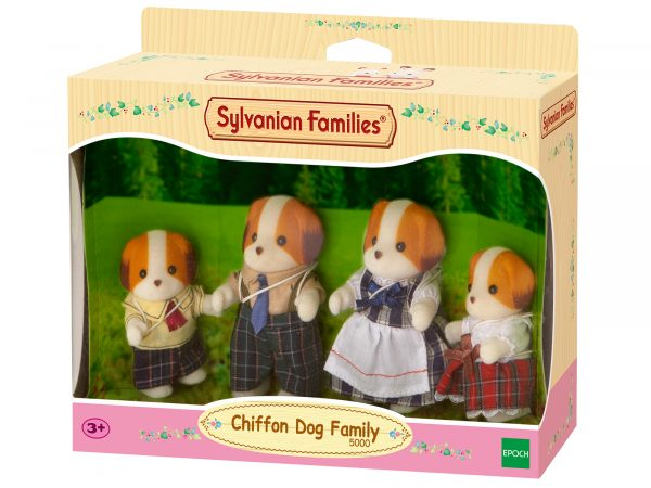 Famiglia cani chiffon SYLVANIAN FAMILIES Femmina 12-36 Mesi, 3-4 Anni, 3-5 Anni, 5-7 Anni, 5-8 Anni, 8-12 Anni ALTRI