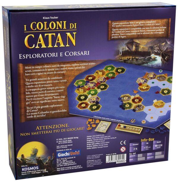 COLONI DI CATAN ESPLOR CORSARI - Altro - Toys Center - ALTRO - Fino al -20%