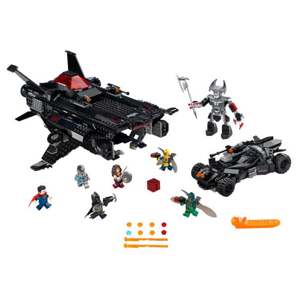 LEGO SUPER HEROES ALTRI 76087 - Volpe volante: attacco al ponte aereo con la Batmobile - Lego Super Heroes - Toys Center Maschio 12+ Anni, 8-12 Anni