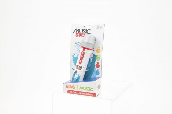 MUSIC STAR Microfono musicale MUSICSTAR Unisex 12-36 Mesi, 12+ Anni, 3-5 Anni, 5-8 Anni, 8-12 Anni ALTRI