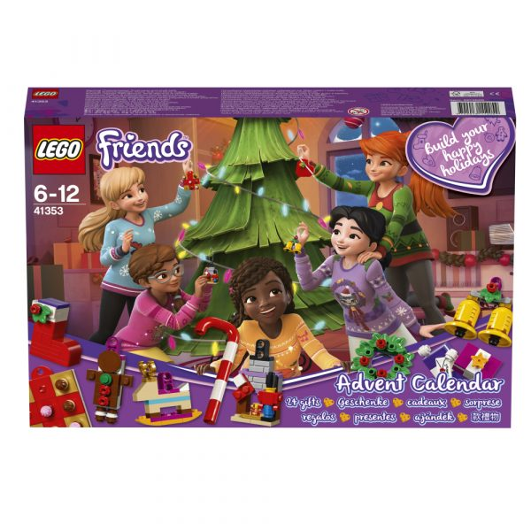 LEGO FRIENDS ALTRI LEGO Friends  - Calendario dell'Avvento 2018 41353 Unisex 12+ Anni, 5-8 Anni, 8-12 Anni