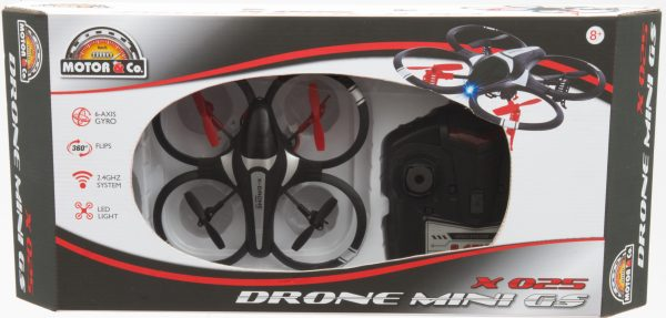MOTOR&CO Drone radiocomandato Mini GS Quadcopter MOTOR & CO Maschio 12+ Anni, 5-8 Anni, 8-12 Anni TOYS CENTER