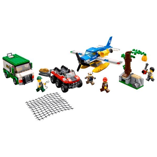 LEGO CITY ALTRI LEGO City - Rapina sul fiume - 60175 Maschio 12+ Anni, 3-5 Anni, 5-8 Anni, 8-12 Anni