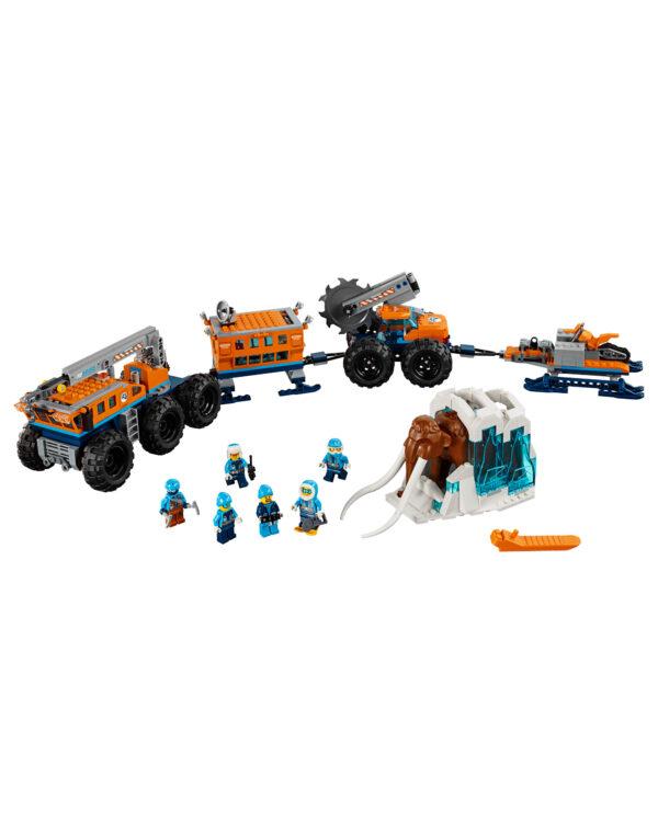 LEGO CITY ALTRI 60195 - Base mobile di esplorazione artica Unisex 12+ Anni, 5-8 Anni, 8-12 Anni