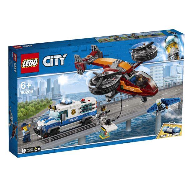 60209 - Polizia aerea: furto di diamanti - Lego City Police - Toys Center LEGO CITY POLICE Unisex 12+ Anni, 5-8 Anni, 8-12 Anni ALTRI