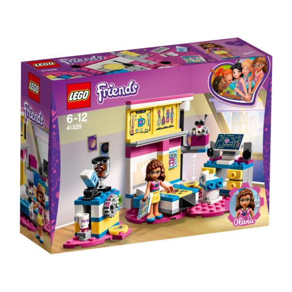 LEGO 41329 - La cameretta deluxe di Olivia LEGO FRIENDS Femmina 12+ Anni, 5-8 Anni, 8-12 Anni ALTRI