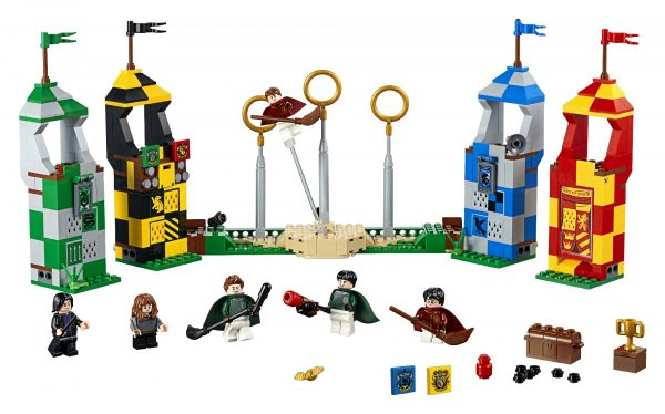 75956 - Harry Potter - Partita di Quidditch - Warner Bros. - Toys Center HARRY POTTER Unisex 12+ Anni, 5-8 Anni, 8-12 Anni LEGO® Harry Potter™, WARNER BROS.
