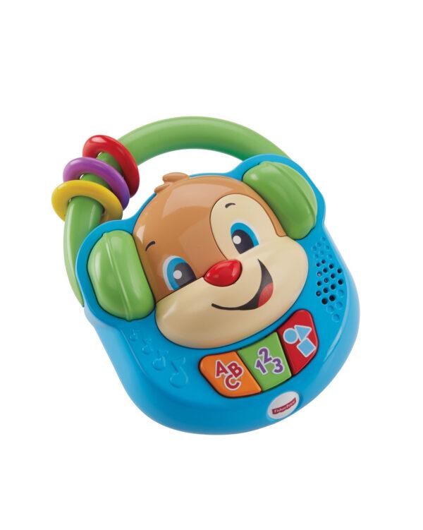 Fisher Price - Lettore Musicale Canta e Impara, giocattolo elettronico ridi impara 6-36 mesi - FPV06 FISHER-PRICE Unisex 0-12 Mesi, 12-36 Mesi ALTRI