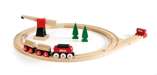 BRIO set treno merci classico - BRIO