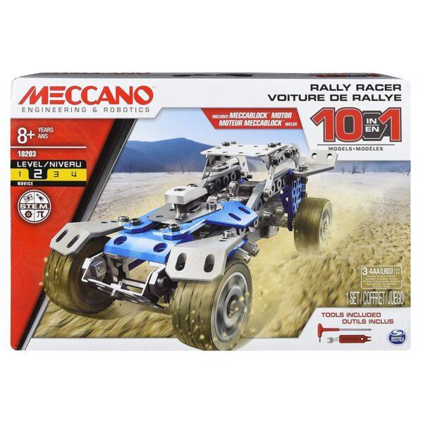 Spin Master ALTRI MECCANO Multi Modello da 10 - Veicolo da Rally Maschio 12+ Anni, 8-12 Anni