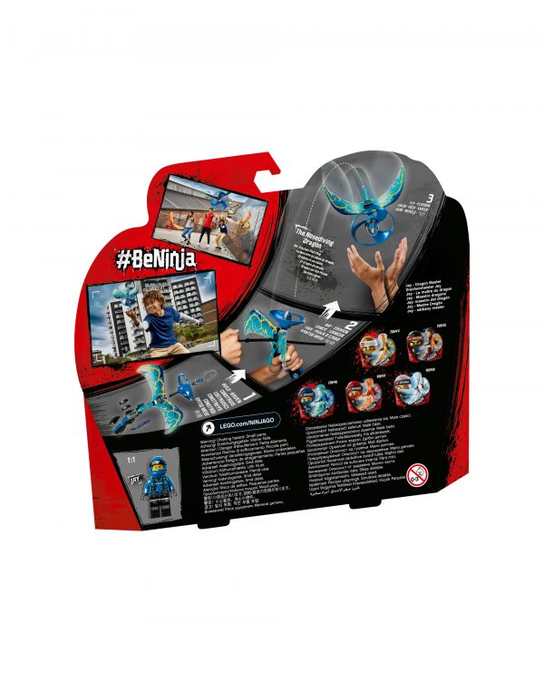 ALTRI LEGO NINJAGO Unisex 12+ Anni, 5-8 Anni, 8-12 Anni 70646 - Jay - Maestro dragone - Lego Ninjago - Toys Center