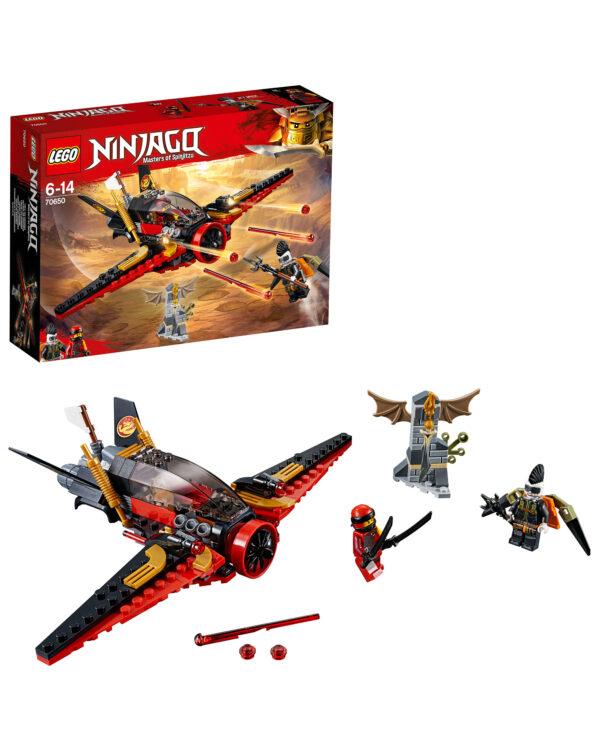 LEGO NINJAGO ALTRI 70650 - L'ala del destino Unisex 12+ Anni, 5-8 Anni, 8-12 Anni