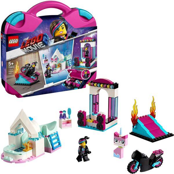 70833 - La scatola delle costruzioni di Lucy! - The LEGO Movie 2 - LEGO - Marche THE LEGO MOVIE 2 Unisex 12+ Anni, 3-5 Anni, 5-8 Anni, 8-12 Anni ALTRO