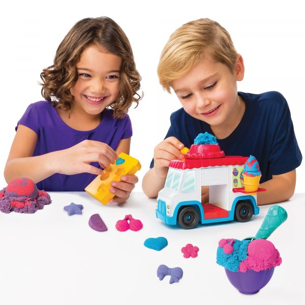 KINETIC SAND Furgoncino dei gelati - Kinetic Sand - Toys Center ALTRI Unisex 12-36 Mesi, 12+ Anni, 8-12 Anni Spin Master