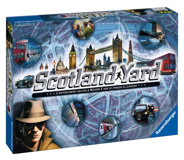 Scotland Yard - Ravensburger Classic - Toys Center RAVENSBURGER CLASSIC Unisex 12+ Anni, 5-8 Anni, 8-12 Anni ALTRI