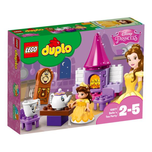 10877 - Il Tea-Party di Belle - Lego Duplo - Toys Center LEGO DUPLO Femmina 12-36 Mesi, 3-5 Anni, 5-8 Anni PRINCIPESSE DISNEY