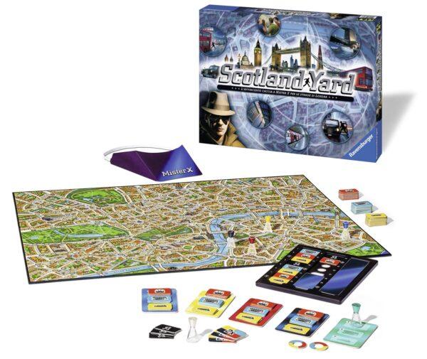Scotland Yard - Ravensburger Classic - Toys Center ALTRI Unisex 12+ Anni, 5-8 Anni, 8-12 Anni RAVENSBURGER CLASSIC