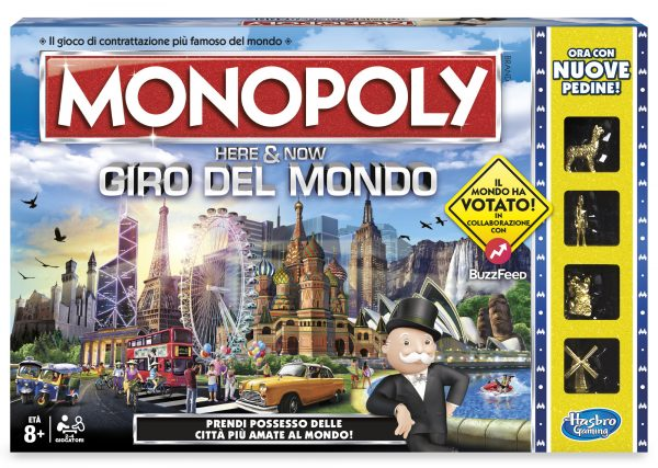 Monopoly Giro Del Mondo - Hasbro Gaming - Toys Center HASBRO GAMING Unisex 12+ Anni, 5-8 Anni, 8-12 Anni ALTRI