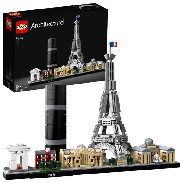 21044 - Parigi - Lego Architecture - Toys Center LEGO ARCHITECTURE Unisex 12+ Anni, 8-12 Anni ALTRI