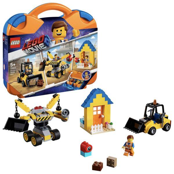 70832 - La scatola delle costruzioni di Emmet! - The LEGO Movie 2 - LEGO - Marche ALTRO Unisex 12+ Anni, 3-5 Anni, 5-8 Anni, 8-12 Anni THE LEGO MOVIE 2