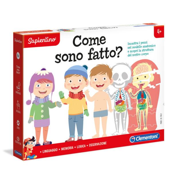 COME SONO FATTO? - Sapientino - Toys Center SAPIENTINO Unisex 3-5 Anni, 5-8 Anni ALTRI
