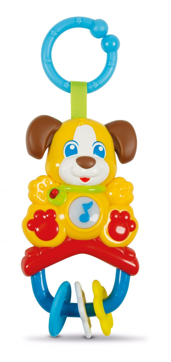 SONAGLINO ELETTR. CAGNOLINO - Baby Clementoni - Toys Center BABY CLEMENTONI Unisex 0-12 Mesi, 12-36 Mesi ALTRI
