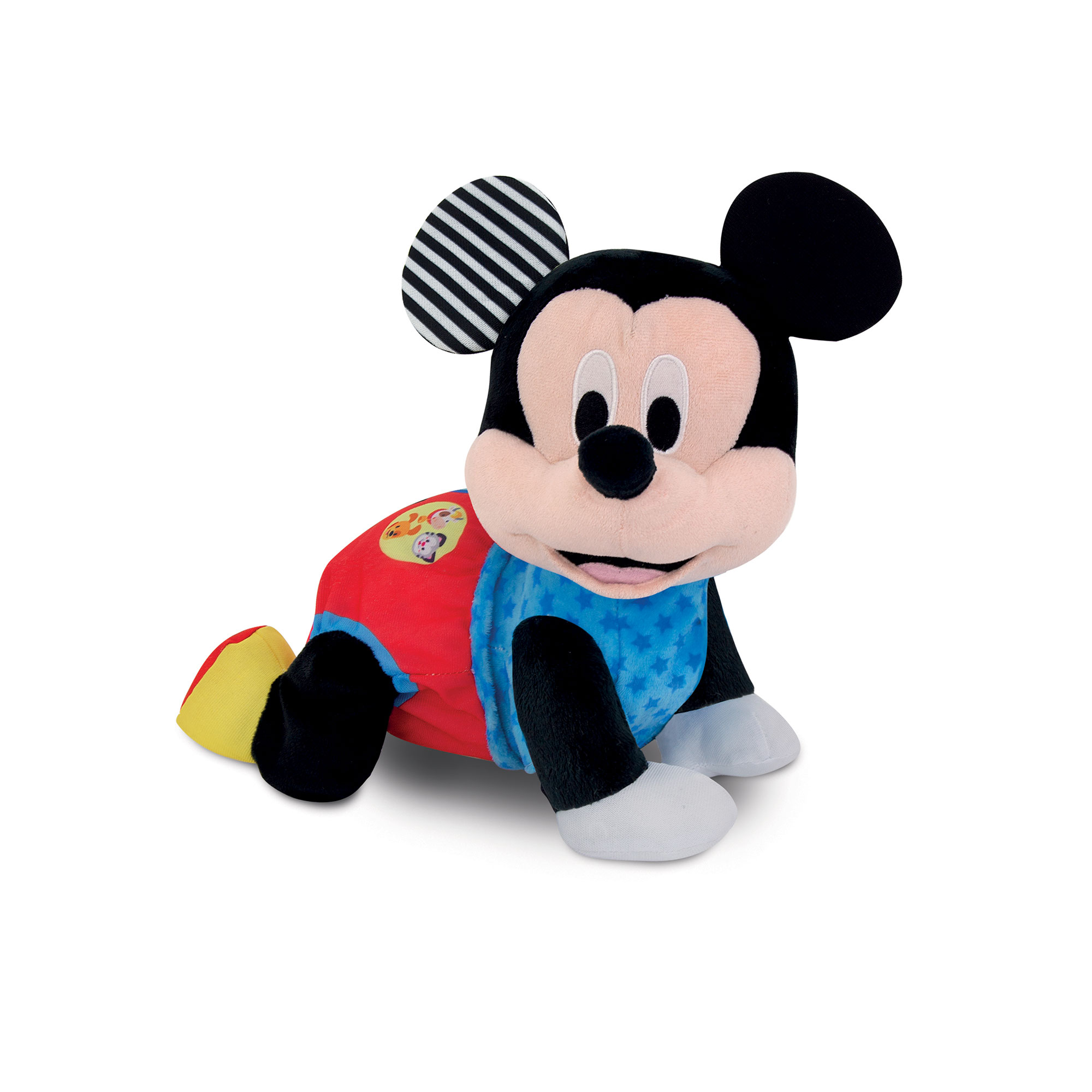 Clementoni - 17237 - baby mickey gattona con me - Disney
