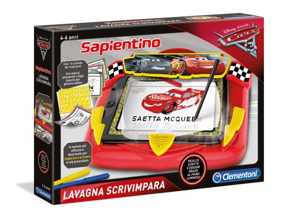 LAVAGNA SCRIVIMPARA CARS3 - Disney - Pixar - Toys Center DISNEY - PIXAR Maschio 3-5 Anni, 5-8 Anni CARS