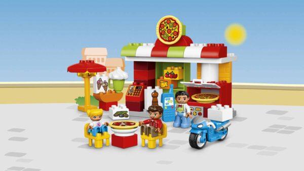 LEGO DUPLO ALTRI 10834 - La pizzeria Unisex 3-4 Anni, 5-7 Anni