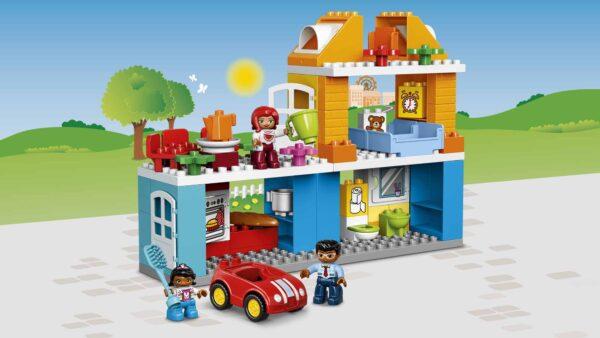 LEGO DUPLO ALTRI 10835 - Villetta familiare Unisex 3-4 Anni, 5-7 Anni