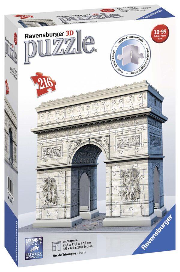 3D Puzzle Building - Arco di Trionfo - Altro - Toys Center ALTRI Unisex 12+ Anni, 8-12 Anni ALTRO