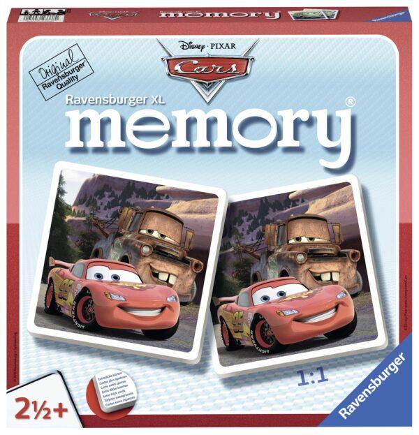 memory® XL - Cars ALTRO Unisex 12-36 Mesi, 12+ Anni, 3-5 Anni, 5-8 Anni, 8-12 Anni CARS