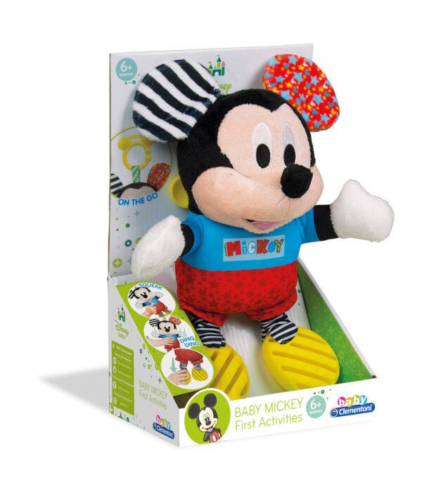 Baby Mickey Prime Attività - Disney - Toys Center TOPOLINO&CO. Unisex 0-2 Anni Disney