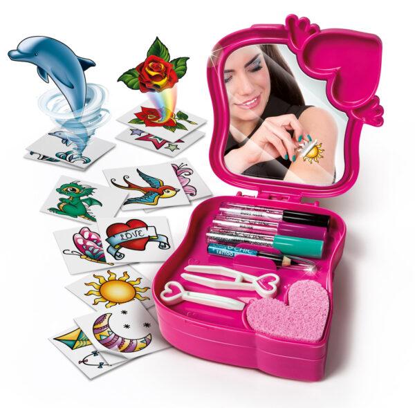 Crazy Chic Magic Tattoo - Crazy Chic - Toys Center - CRAZY CHIC - Giochi educativi, musicali e scientifici