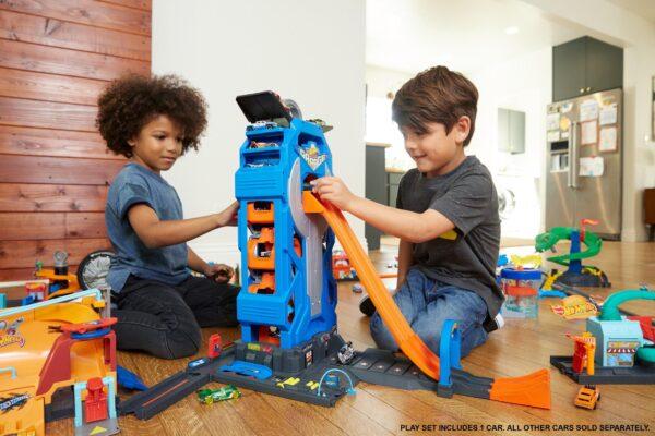 Hot Wheels - Mega garage - Hot Wheels - Toys Center - Hot Wheels - GIOCHI... DA MASCHIO