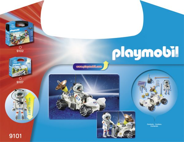 VALIGETTA GRANDE MISSIONE SPAZIALE - Playmobil - City Action - Toys Center PLAYMOBIL - CITY ACTION Maschio 12+ Anni, 3-5 Anni, 5-8 Anni, 8-12 Anni ALTRI