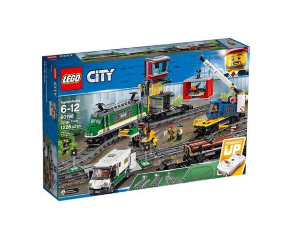LEGO 60198 - Treno merci LEGO CITY Unisex 12+ Anni, 5-8 Anni, 8-12 Anni ALTRI