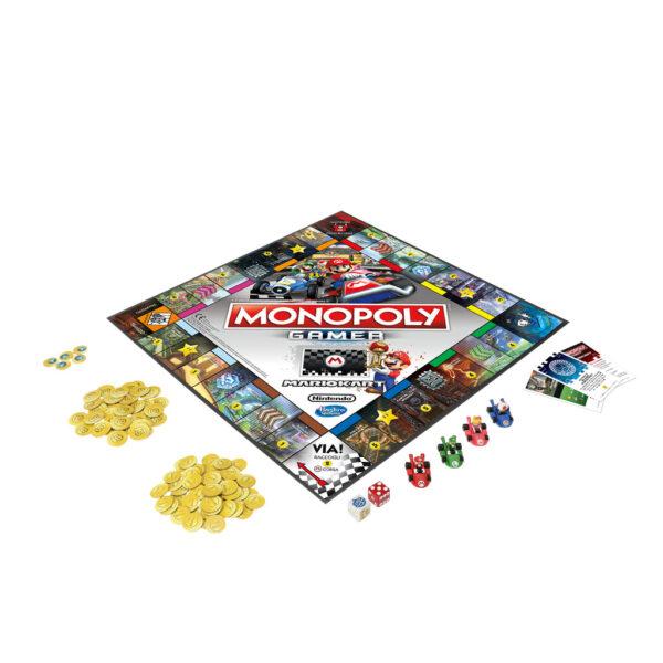 Monopoly Gamer Mario Kart - Monopoly - Toys Center ALTRI Unisex 12+ Anni, 5-8 Anni, 8-12 Anni MONOPOLY
